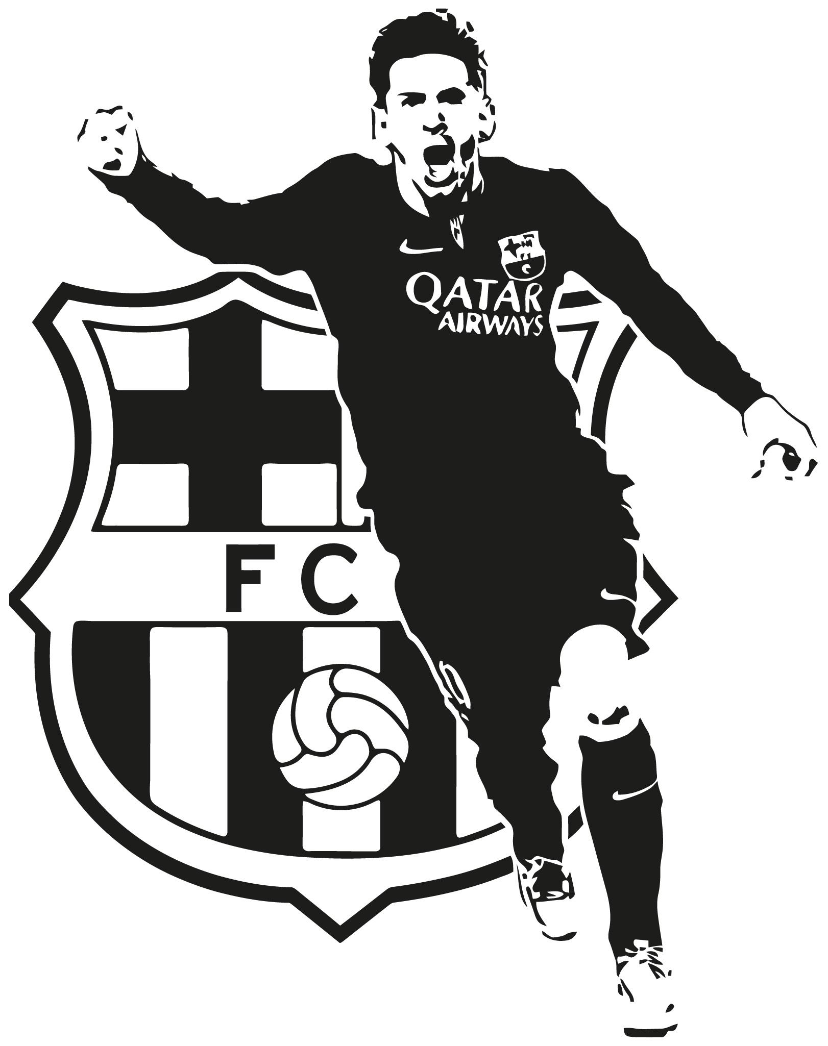 Leo Messi Soccer Players Wall Sticker Wall Sticker Usa